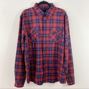 MARMOT . Plaid Flannel L/S Shirt . XL